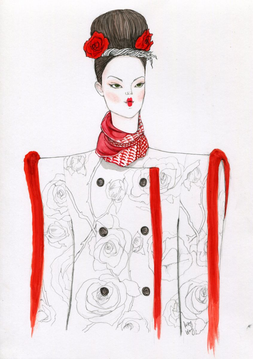 Essential fashion illustration details 72