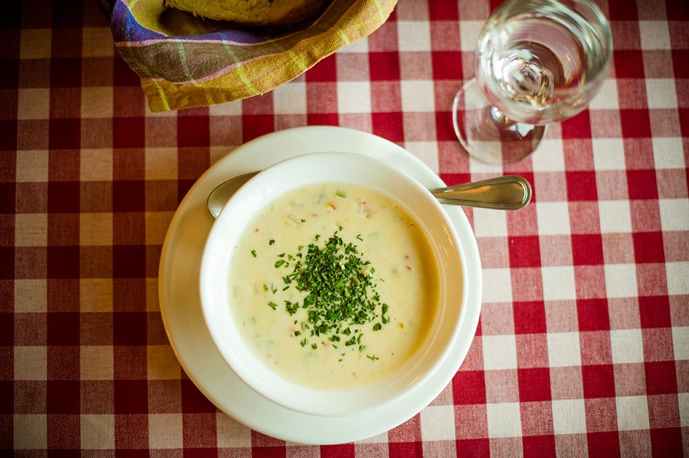 Сливочный суп с мидиями рецепт с фото как приготовить
