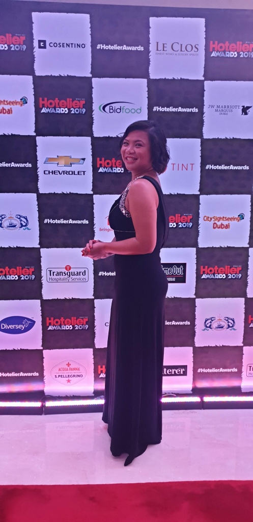 At the Hotelier Middle East Awards 2019 for Marketing Person of the Year Award.jpg