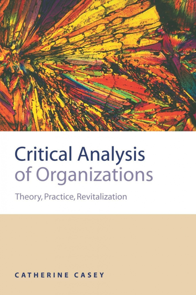 Critical Analysis of Organizations, Catherine Joan Casey.jpg